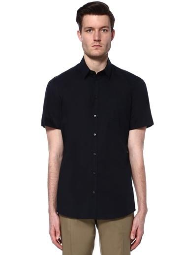 Dolce&Gabbana Kısa Kollu Gömlek Lacivert